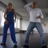 Niko Formanek im Tanztraining